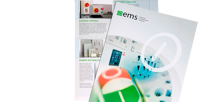 EMS Switchgear Brochure Design