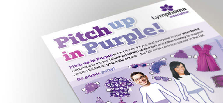 Lymphoma Association Purple Campaign
